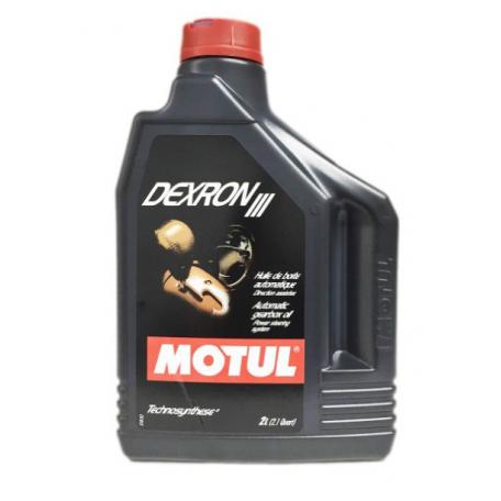 Huile de boîte automatique Motul Dexron III, spécifique pour boîte de vitesses Ford, 2 litres