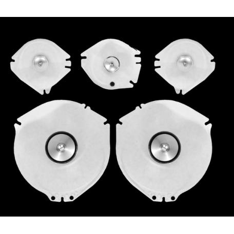 Kit de lentilles d'instrumentation de tableau de bord pour Mustang 67 et 68