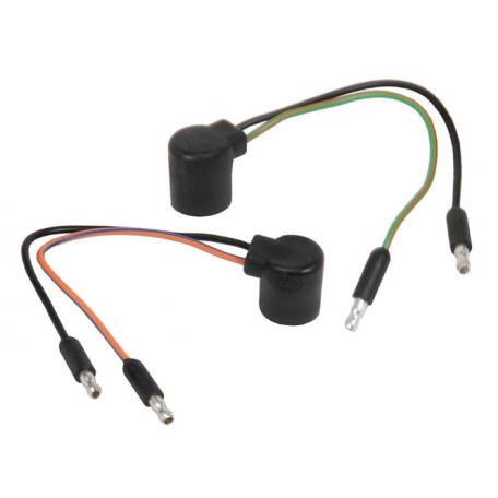 Câblages de douille de feux arrières (paire), Mustang 64 à 66