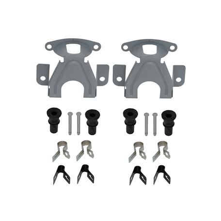 Kit quincaillerie d'étrier de frein Mustang 68 à 73