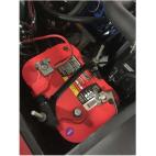 Kit de fixation de batterie Mustang 67 à 70