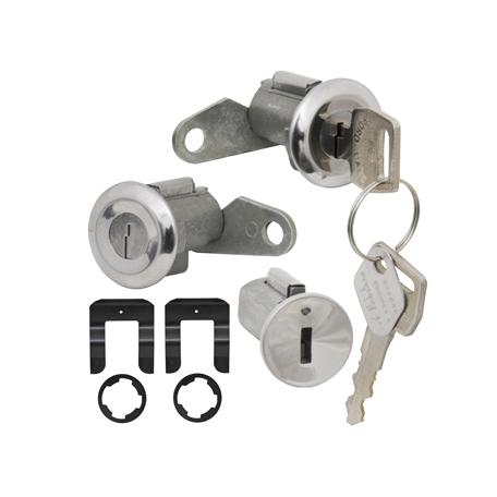 Kit barillet neiman + porte avec clef Mustang 67 à 69