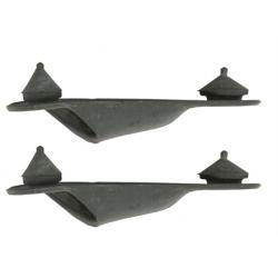 Bouchons de vidange d'aile de coffre (2) Mustang 64 à 66