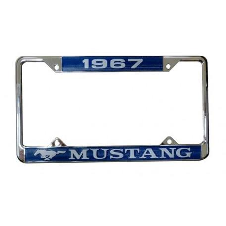 Encadrement de plaque d'immatriculation Mustang 1967