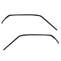 Joints d'étanchéité de pavillon, paire, Mustang 69 à 70