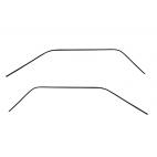 Joints d'étanchéité de pavillon, paire, Mustang 64 à 66