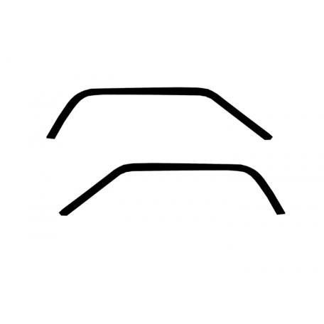 Joints d'étanchéité de pavillon, paire, Mustang 67 à 68