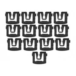 Kit d'agrafes de moulures de pare-brise/ lunette arrière, Mustang 79 à 93
