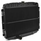 Radiateur de refroidissement 3 rangées, Mustang 67 à 70