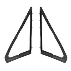 Joints de fenêtre de ventilation, paire, Mustang 67 à 68