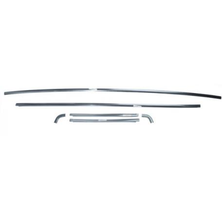 Kit de moulures de lunette arrière pour Mustang Coupé de 65 à 66