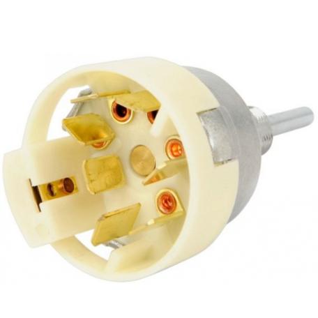 Contacteur électrique d'essuie glace 1 vitesse avec pompe de lavage, Mustang 65 à 66