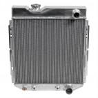 Radiateur aluminium 3 rangs pour V8 289, Mustang 1964 à 1966