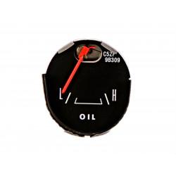 Cadran indicateur de pression d'huile, Mustang GT de 1964 à 66