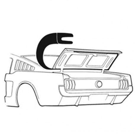 Joint de malle arrière, Mustang Fastback 1965-66