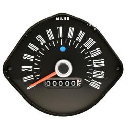 Compteur de vitesse Ford Mustang 1965 et 1966 (pour cadran rond)