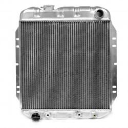 Radiateur aluminium 2 rangées, V8 289 Ci, 302Ci, 351W, Mustang 67-69