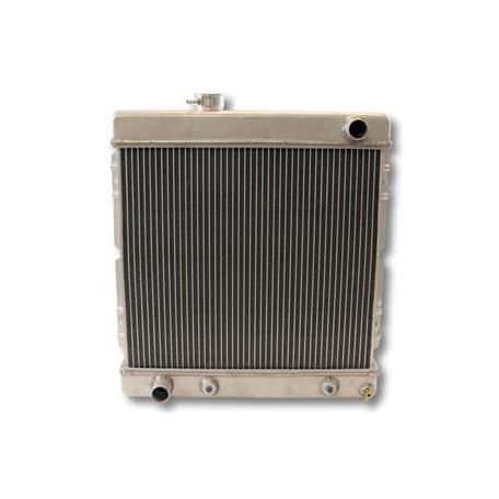 Radiateur aluminium 6 cylindres boîte meca ou auto, Mustang 64-66