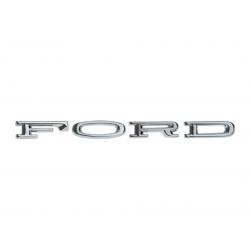 Emblème de lettres FORD de capot autocollantes - Mustang 64 à 66