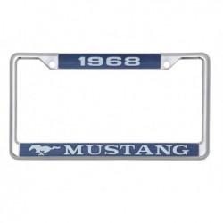 Encadrement de plaque d'immatriculation Mustang 1968