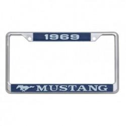 Encadrement de plaque d'immatriculation Mustang 1969
