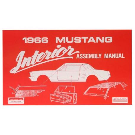 Manuel de Montage intérieur Mustang 1966