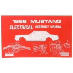 Manuel de Montage Electrique Mustang 1966