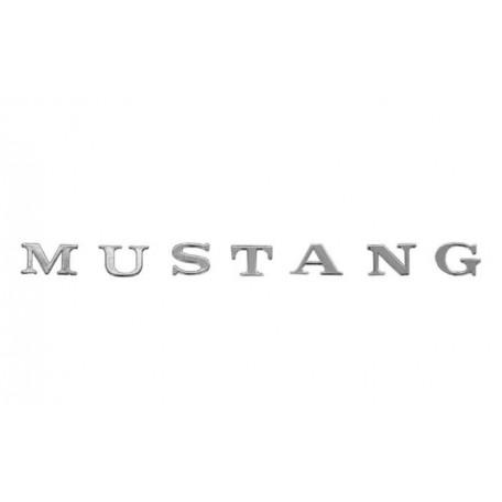 Lettres M.U.S.T.A.N.G de carrosserie, Mustang 64 à 70