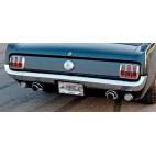 Pare-choc arrière chromé de Mustang et Shelby 65 et 66