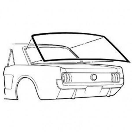 Joint de lunette arrière pour Mustang Coupé 64 à 68