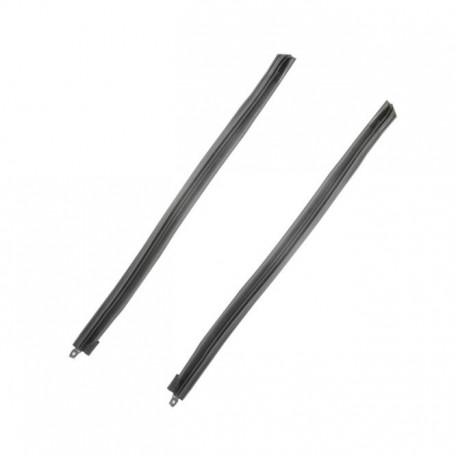 Joints de montants de pare-brise (par paire) pour cabriolet, Mustang 64 à 68