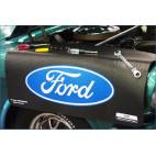 Tapis de protection d'aile siglé Ford, Mustang 64 à 2018