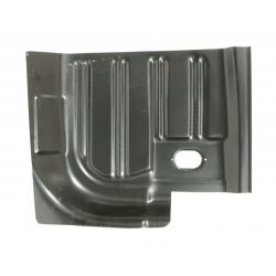 Tôle plancher arrière droit - Mustang 64 à 70