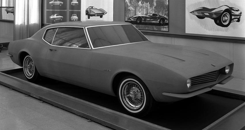 Chevrolet Panther 1965, dans le studio de Henry C. Haga