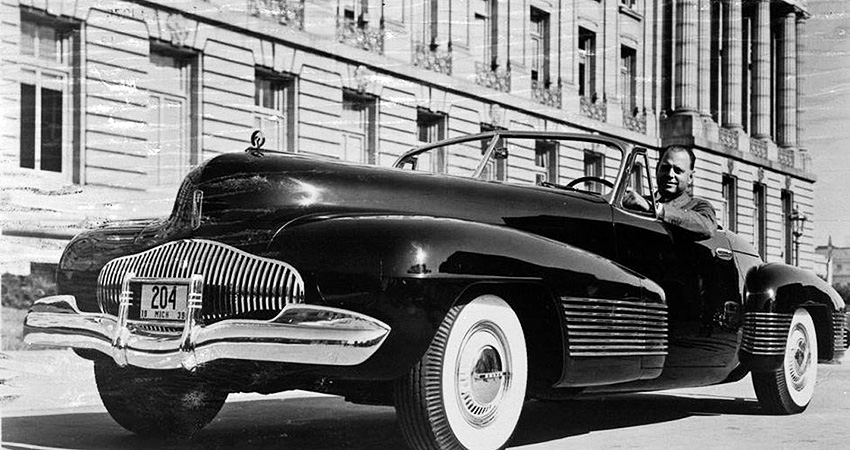 La Buick Y-Job 1937 de General Motors, premier « Concept-car »