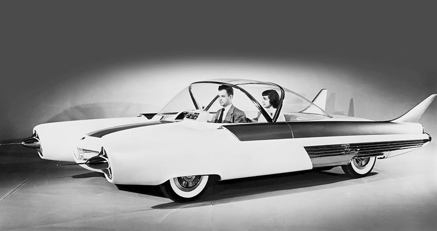 La Ford FX-Atmos 1954, en fibre de verre
