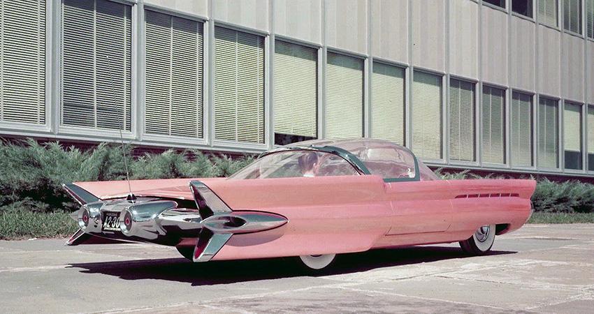 La Ford La Tosca 1955, maquette à l'échelle 3/8