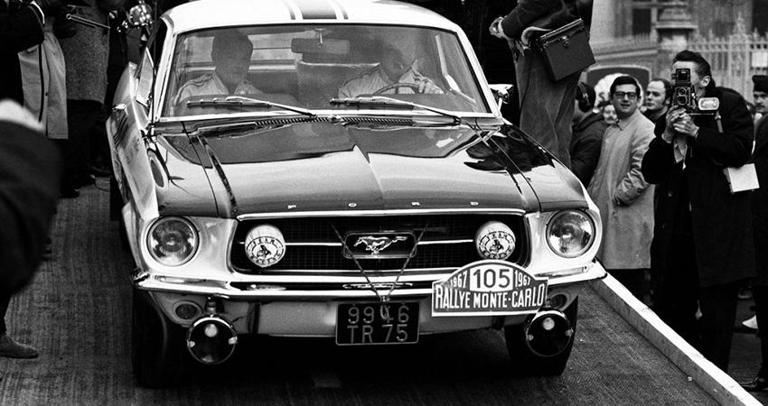 La Ford Mustang de Johnny Hallyday (Rallye de Monte-Carlo, 1967)