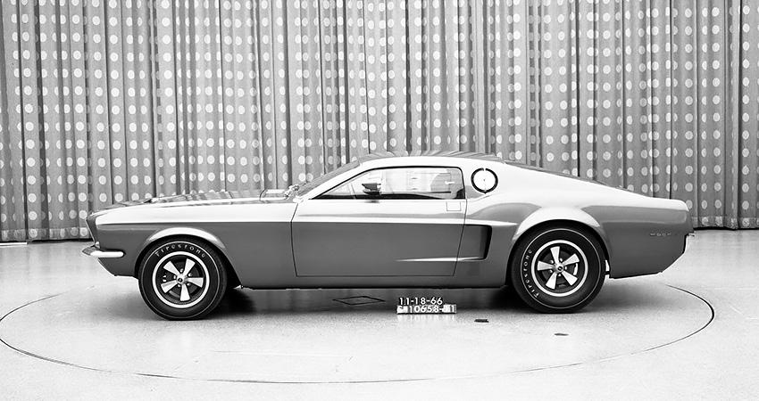 La Ford Mustang Mach I Concept 1966, un fastback à 2 places