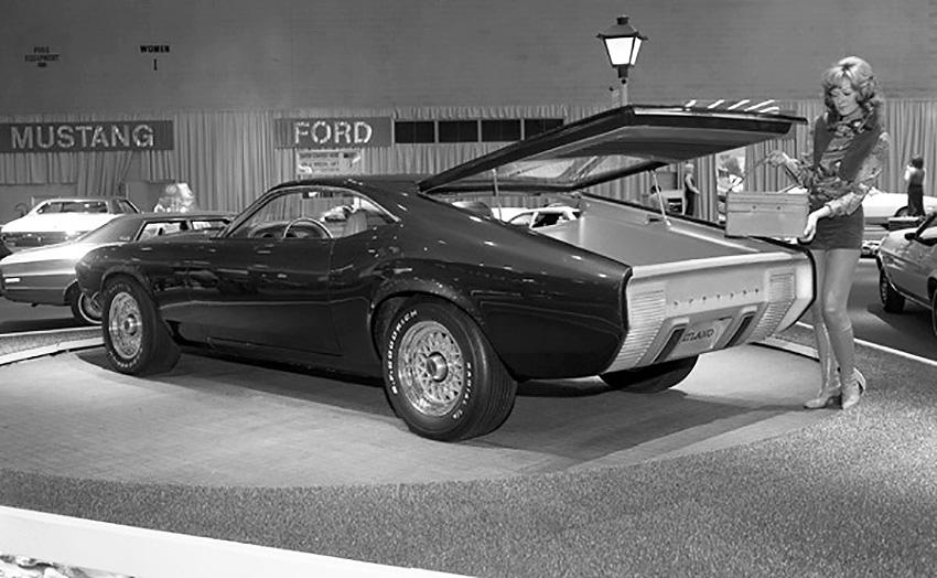 La Ford Mustang Milano Concept de 1970