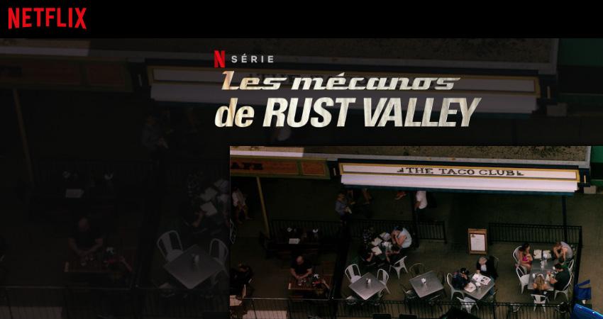 Les mécanos de Rust Valley sur Netflix